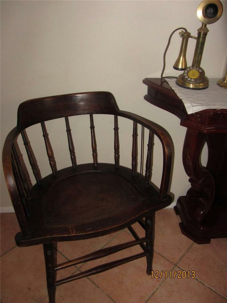 Anitque Captain'S Chair in Maitland, NSW | eBay