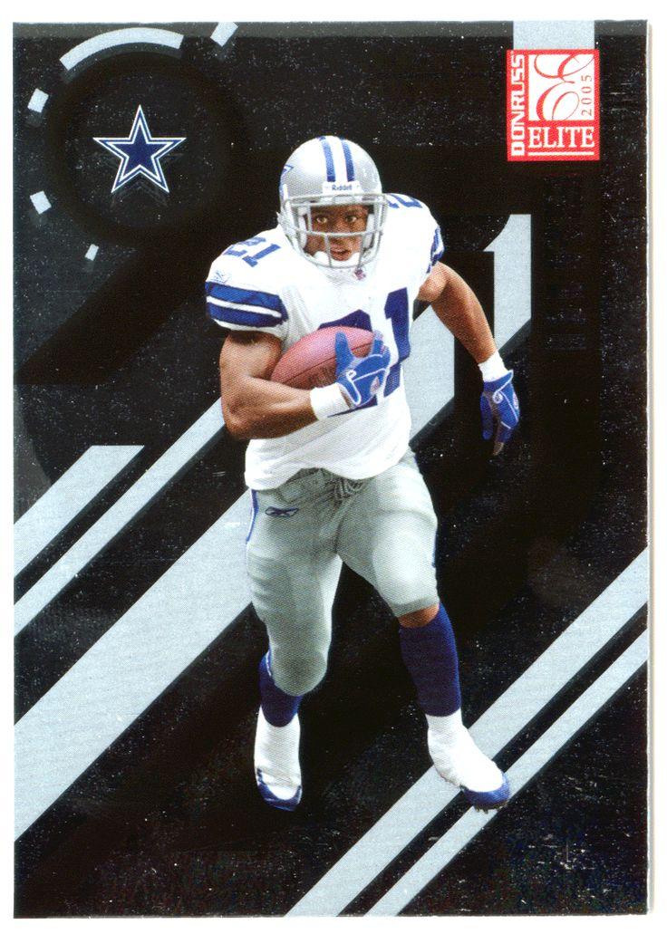 Julius Jones # 24 - 2005 Donruss Elite Football