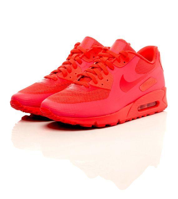 Air Max Nike Chaussures De Sport De La Femme Rouge