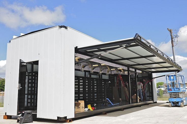 Introducing Hydraulic Doors For Iso Shipping Containers
