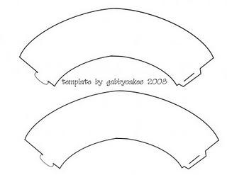 blank wrapper printout template