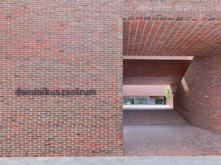 Dominikuszentrum in m nchen by meck architekten 39 39 even a brick wants to be something - Meck architekten ...