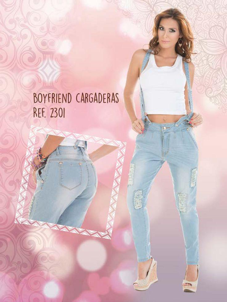 #Boyfriend Jeans. #tirantes. #catalogo. #diseños 2015