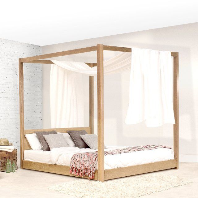 low four poster bed - Four Poster Bed Frame