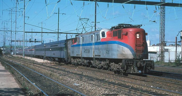 Amtrak GG1 Electric Locomotive.