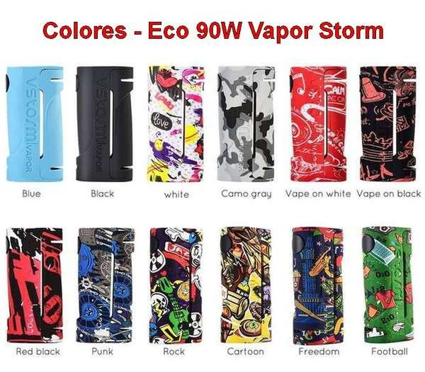 Eco 90w Vapor Storm Colores Listado De Nombres Punk En 2020 Punk