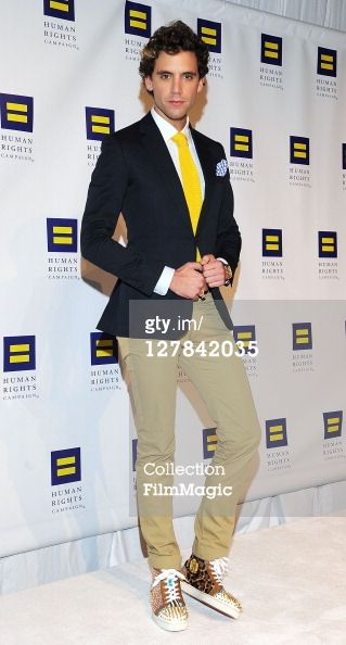 Mika arrives at the 15th Annual Human Rights Campaign National Dinner at the Washington Convention Center on October 1, 2011 in DC