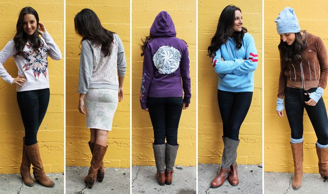 5 Ways to Turn Old Hoodies into Hip New Threads!
