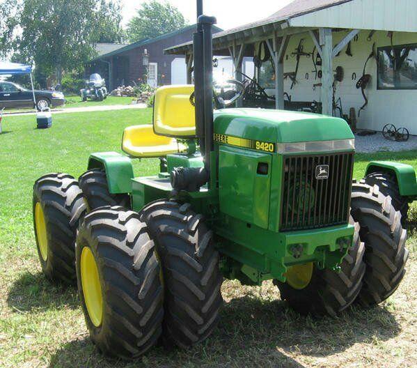 John Deere 9420 Garden Tractor | ... Have Any Info On This Articulated John Deere 420 Garden Tractor
