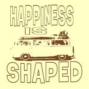 Happiness Is Camper Shaped | Fabrily