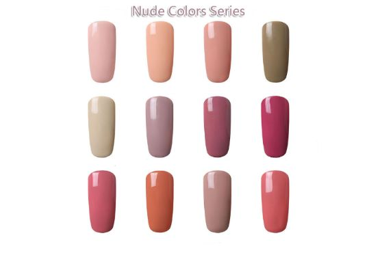 Gel lak Nude Color Series