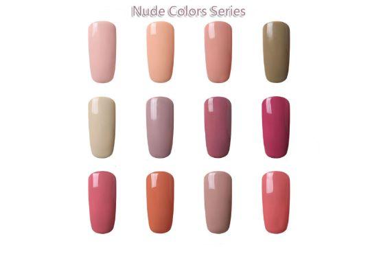 Gel lak Nude Color Series