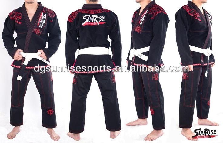 (120.00$)  Buy here - http://ainqj.worlditems.win/all/product.php?id=1741977648 - Free Shipping Brazilian Jiu Jitsu Gi 100% Preshrunk Cotton Pearl Weave BJJ Gi Kimonos - Black