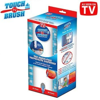 Touch N Brush TB011106 Hands-Free Toothpaste Dispenser & Toothbrush, White by Touch N Brush, http://www.amazon.com/dp/B002I9LVFE/ref=cm_sw_r_pi_dp_AY9Qrb17S05Q8