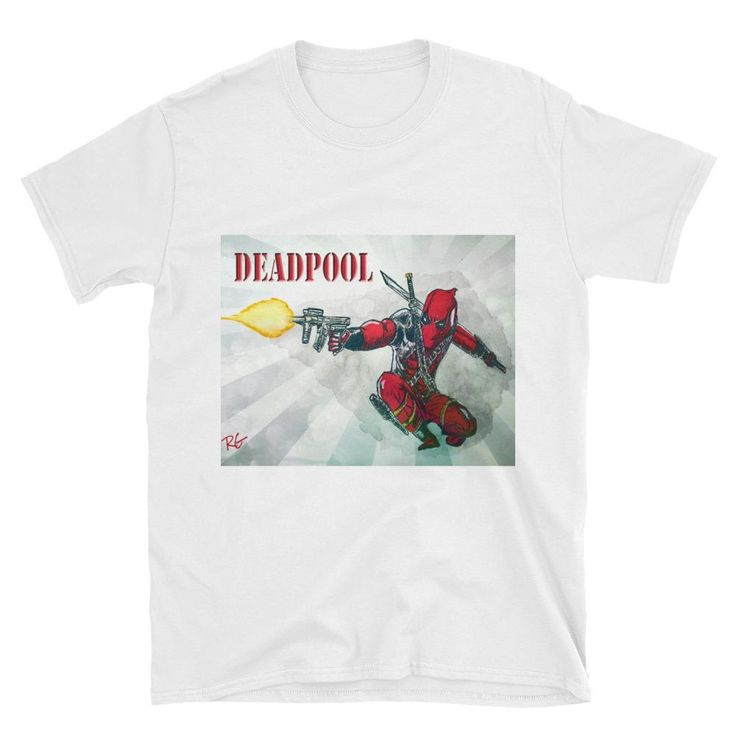 Deadpool Short-Sleeve Unisex T-Shirt