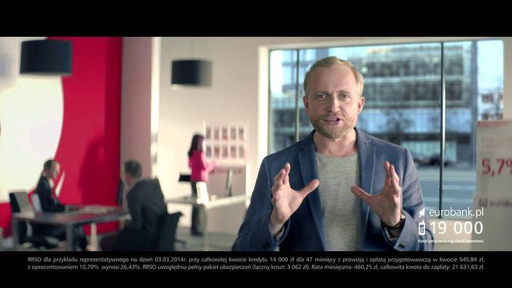 nowa reklama eurobanku - Piotr Adamczyk kupuje skuter