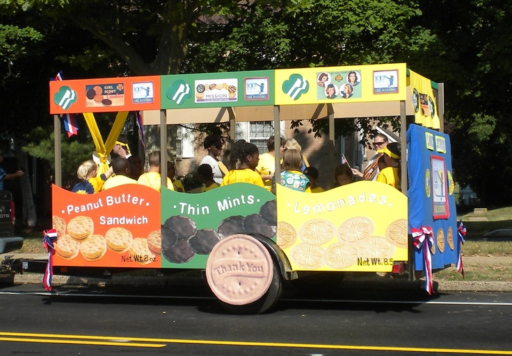 how to make a parade float cheap