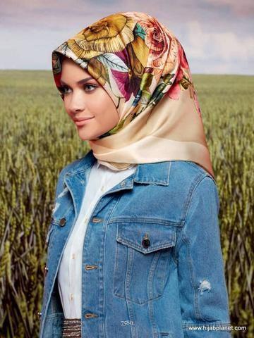 Armine Cesme Silk Hijab - 1