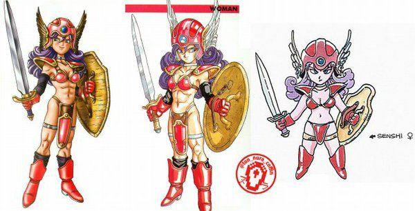 ドラクエ 3 女 戦士