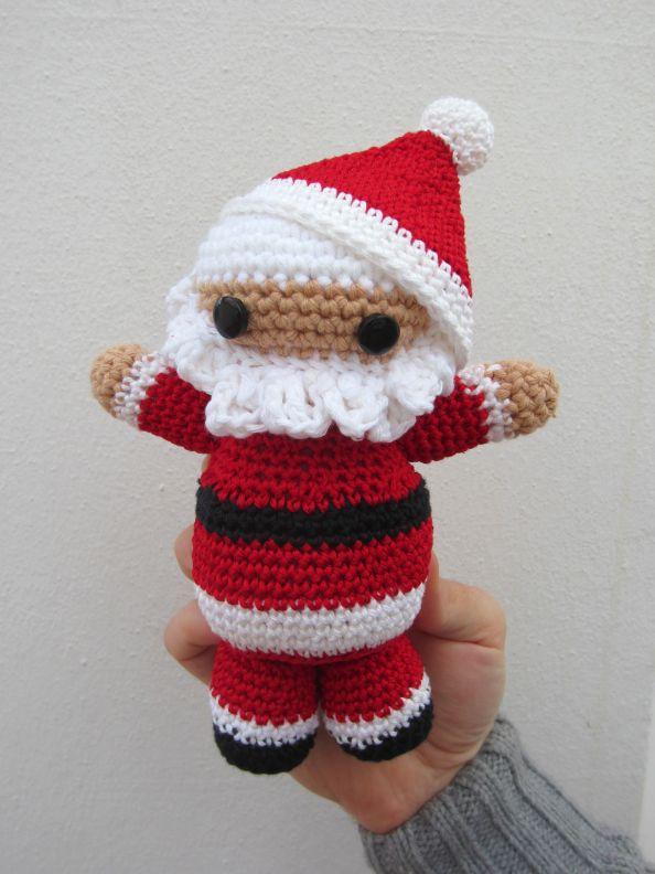 Único Los Patrones De Crochet Media De La Navidad Gratis Bosquejo ...