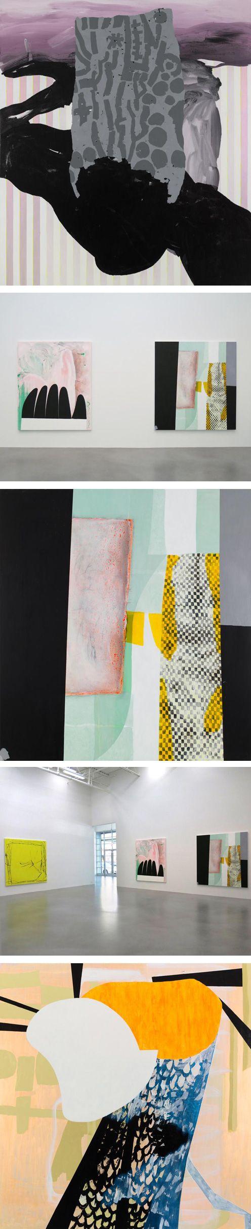 Charline von Heyl at Petzel Gallery via http://www.petzel.com/exhibitions/2013-09-06_charline-von-heyl/