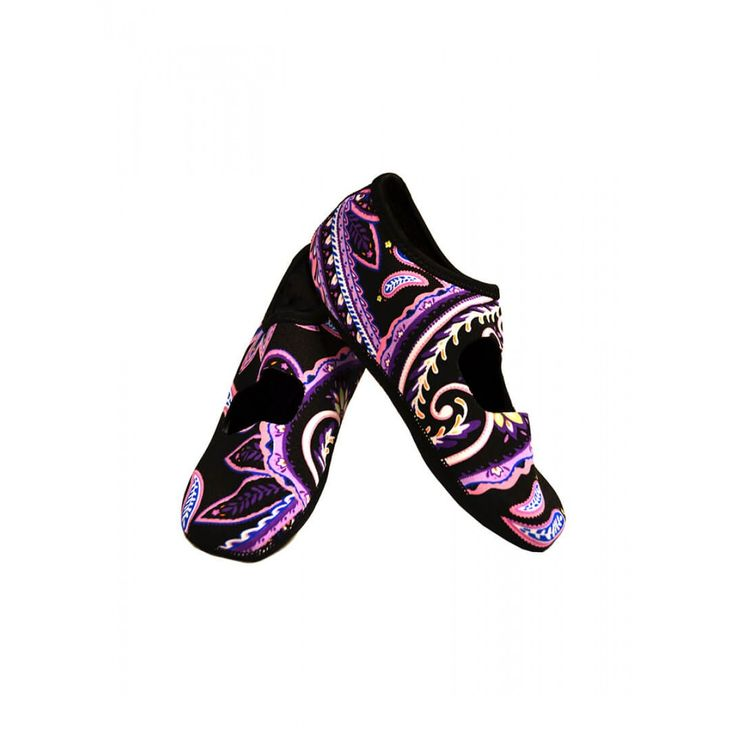 PAISLEY MARY JANES NUFOOT