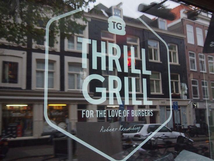 Hamburger Hotspot Thrill Grill powered bij chef Robert Kranenburg | Gerard Doustraat 98
