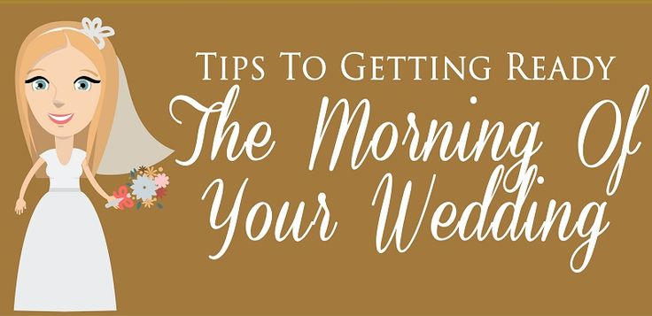 The morning of your wedding day need not be stressful with these tips http://accolades.org.za/tips-to-getting-ready-the-morning-of-your-wedding/#utm_sguid=167968,11d5af68-8266-cfa0-b144-0e42215a12f6 #Bride #WeddingDay