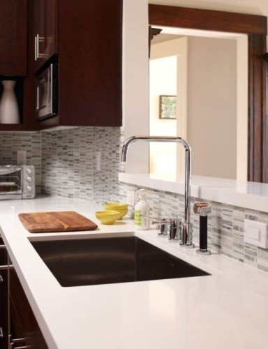 1000 ideas about solid surface countertops on pinterest corian countertops gray kitchen - Glass kitchen countertops pros and cons ...