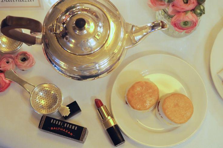 Bobbi Brown x Balthazar Afternoon Tea Covent Garden