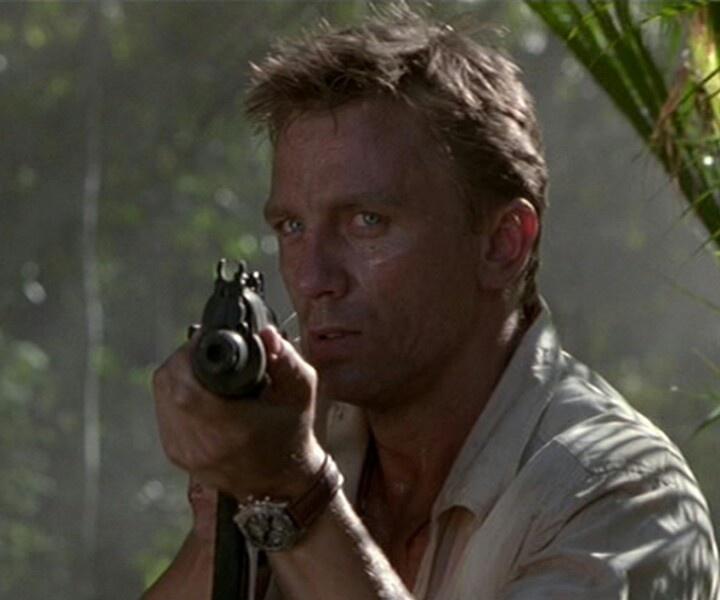 Daniel Craig in Lara Croft, Tomb Raider.