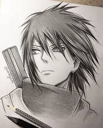 Sasuke Uchiha Drawing <3