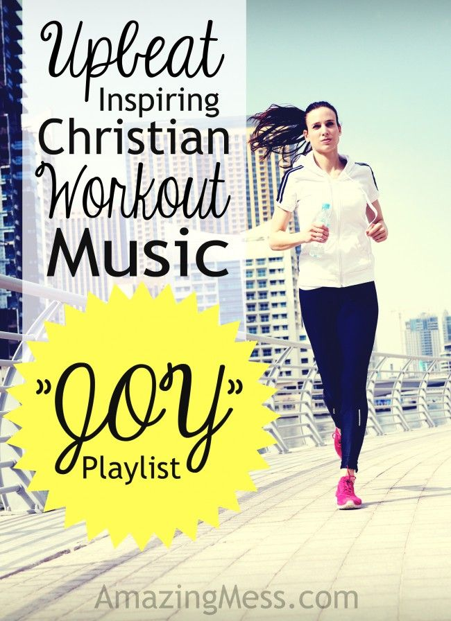 Upbeat and inspiring Christian music playlists for workouts. Get your heart pumping and your spirit singing with a variety of music for workouts!