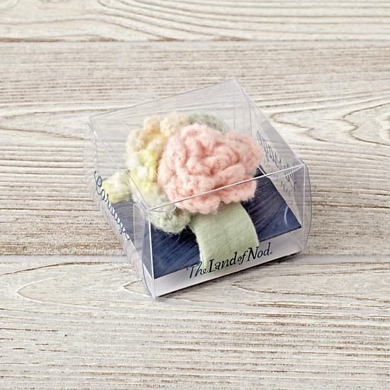 Corsage Baby Wrist Rattle  | The Land of Nod