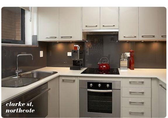 Northcote flat kitchen