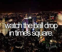 Crazy FUN!Bucketlist, Time Squares, Buckets Lists, Balldrop, Times Square, Before I Die, Ball Drop, New Years Eve, Bucket Lists