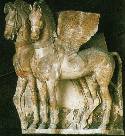 Etruscan winged horses