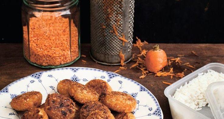 Morots- och risbiffar