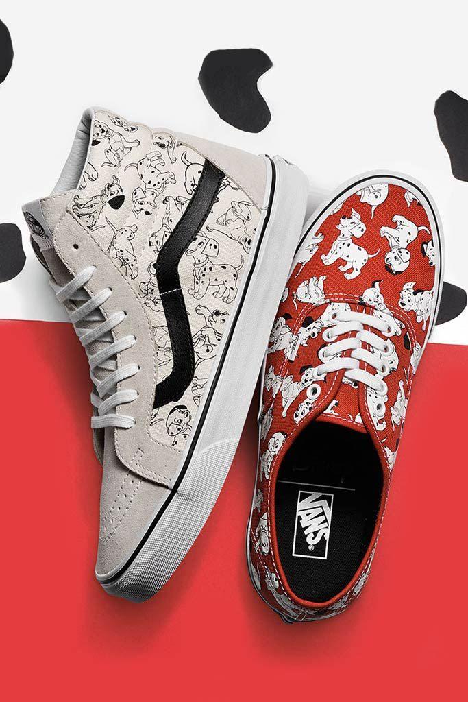 Vans, Disney, 101 Dalmatians. Oh my god Disney Vans!