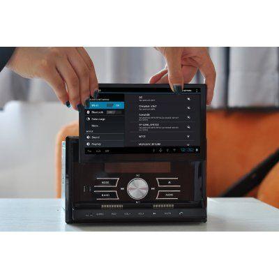 """2DIN Car DVD Player """"CVITT"""" - Detachable 7 Inch Android Tablet, GPS, DVB-T, WiFi"""
