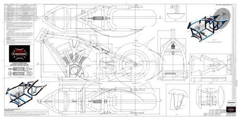 Advice On Motorcycle Frame Blueprints
