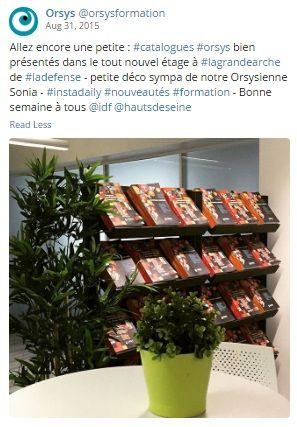 Qualité de vie au travail #QVT Espaces de travail, locaux - Salle de Pause Orsys - La Grande Arche - 9eme étage Découvrez nos offres d'emploi : http://www.orsys.fr/?mode=recrutement
