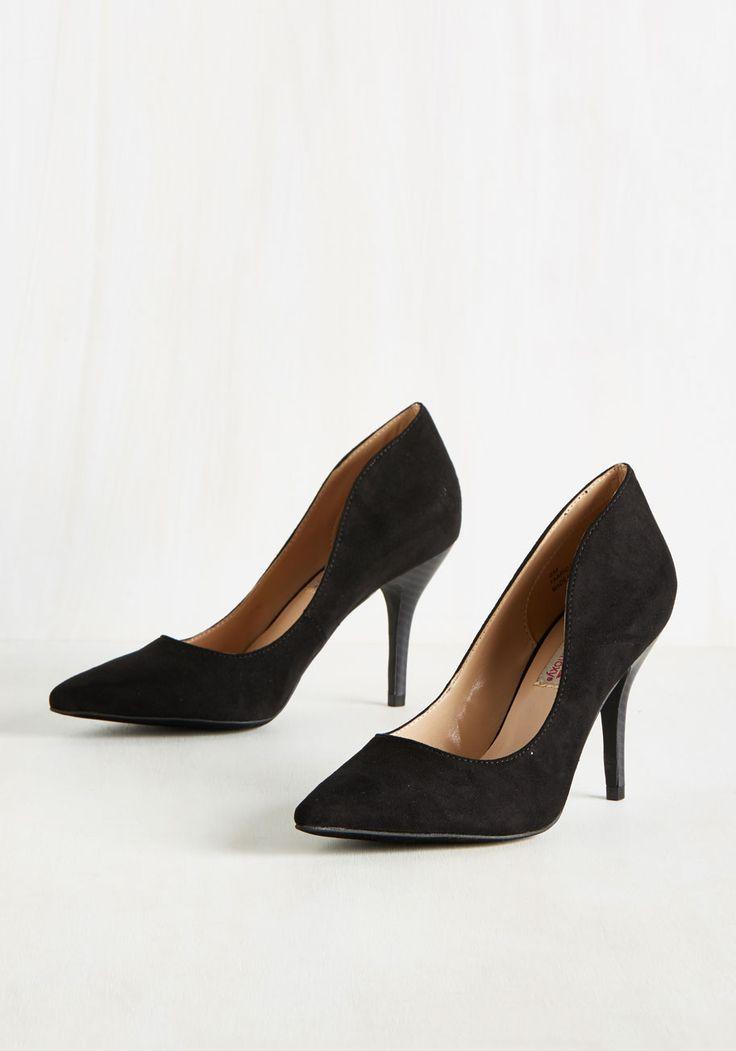 Women's Black Suede Leather Slippers POUR LA VICTOIRE Daina 2016 Winter Online Sale