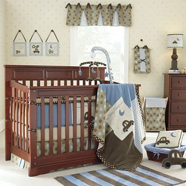 Rockland Hartford Convertible Crib Cherry Jcpenney