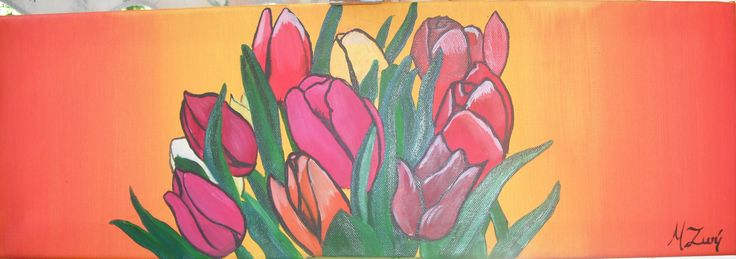 ζωγραφική σε καμβά με λάδι και ακρυλικό 2012