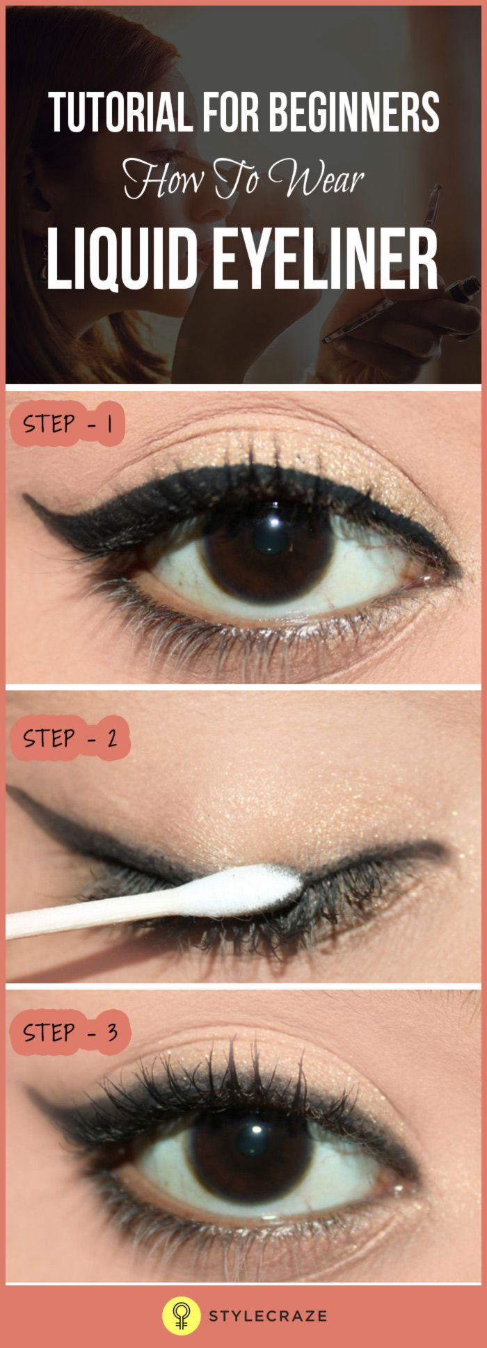 Liquid eyeliner contours and gives a precise definition to our eyes. Simply said wearing liquid eyeliner will give you the WOW effect! However, the task of getting it on perfectly is definitely a tricky task, especially if you have shaky hands. With that, I must admit that if there is one makeup tool that I haven't totally mastered, it is applying my liquid eyeliner. Either it comes out too thick or too thin, or looks like it has been lined by a five-year-old kid. A total disaster.
