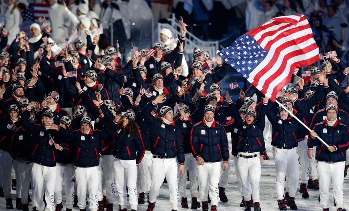 Американская команда в Сочи: рекорд участия