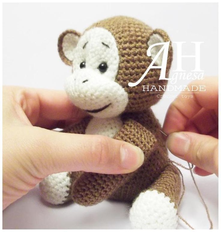 Crochet Monkey | Craftsy