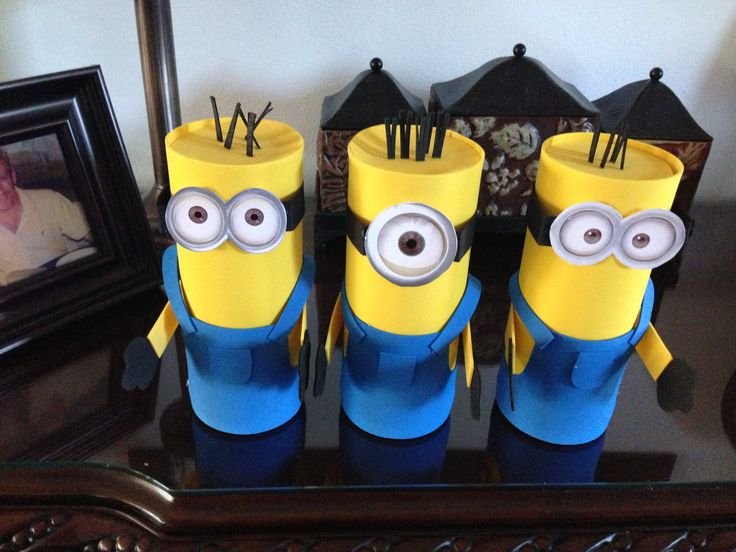 535 best images about despicable me party on pinterest for Minion clothespins