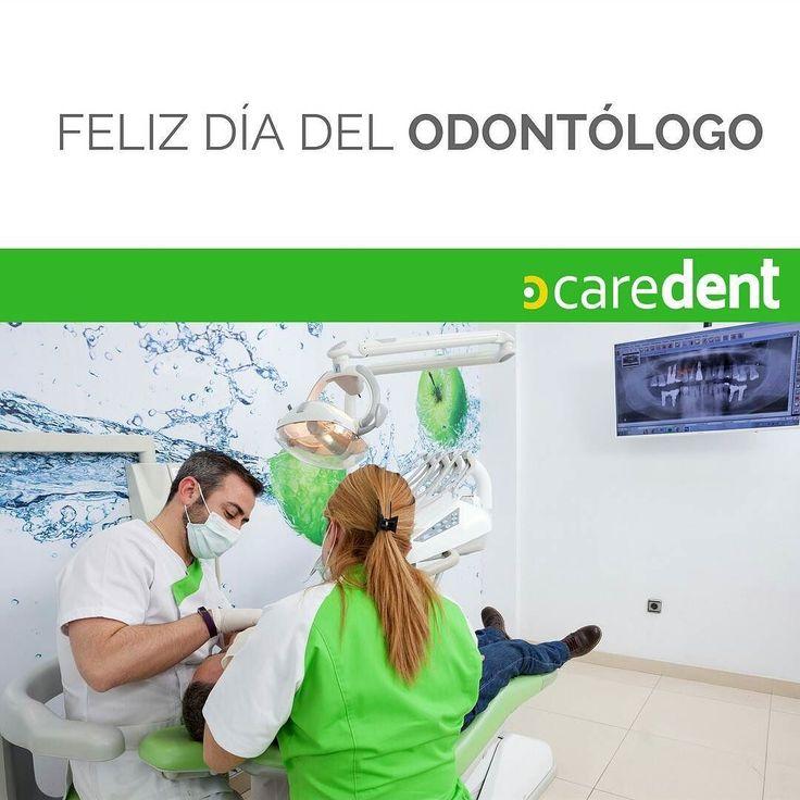 Feliz día del odontólogo a todos los profesionales encargados de construir sonrisas #caredent #dentistry #felizdiadelodontologo #odontologia #españa #italia #portugal